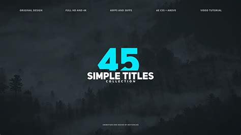 Titles Archives Free After Effects Template Videohive Projects Free After Effects Title Templates
