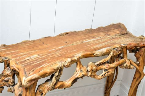 driftwood console table at 1stdibs