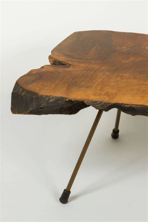 Coffee Tables Made From Tree Trunks Monumental Tree Trunk Table By Carl Aub 246 Ck For Sale At 1stdibs