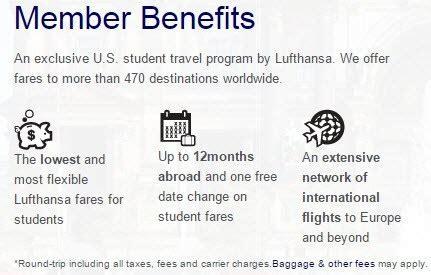 lufthansa s student airfare discount program heels travel