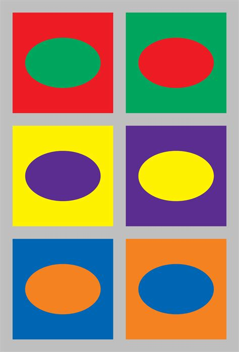 opposite colors complementary colors wikipedia