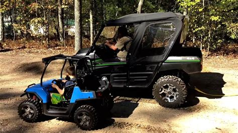 mini utv mini rzr takes on kawasaki teryx utv for cash and wins