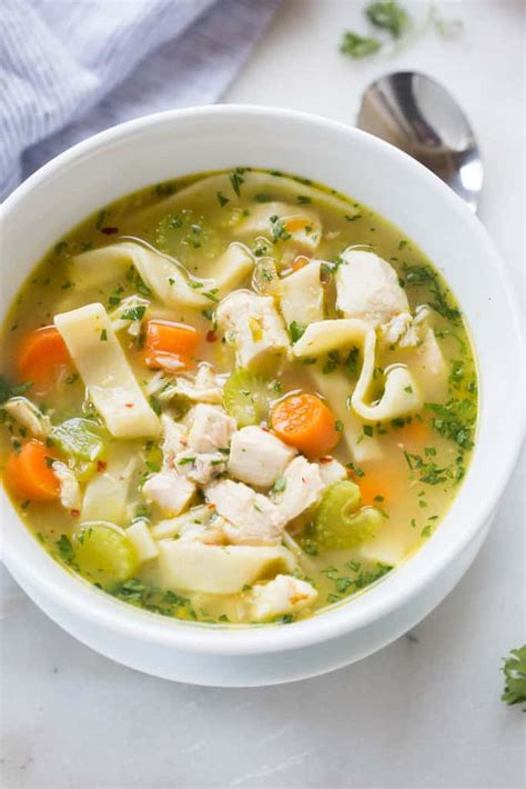 the best chicken noodle soup tastes better from