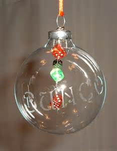 leigh s creative gifts dice glass christmas ornaments