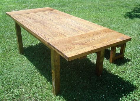harvest table bench buy custom harvest table and benches with extensions made