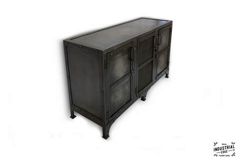 metal media storage cabinet cold roll steel media cabinet charcoal patina real