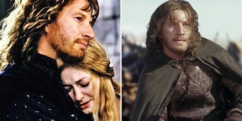 Lord Of The lord of the rings facts about faramir screen rant