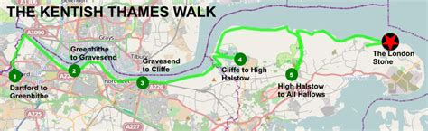 thames barrier location travel log lewes the kentish thames walk and other