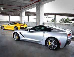 Atlanta Airport Car Rental Corvette Yellow Brake Calipers