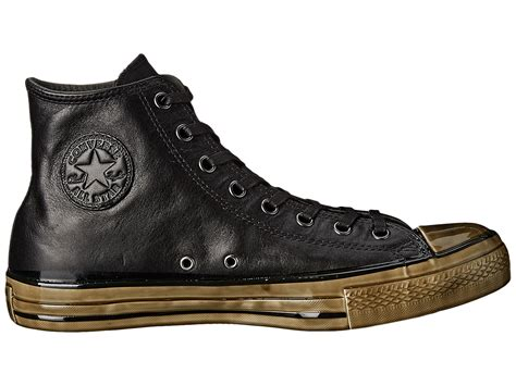 Sale Sepatu Converse Chuck All Leather Ox High Madevietnam high converse converse by varvatos chuck all dipped outsole hi dipped black