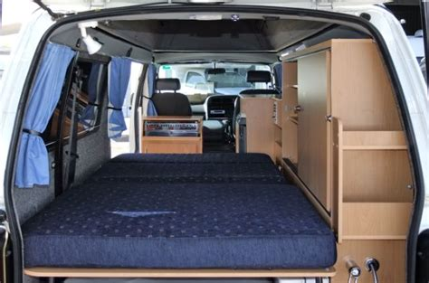 van with bed used motorhomes and caravans australian motor homes