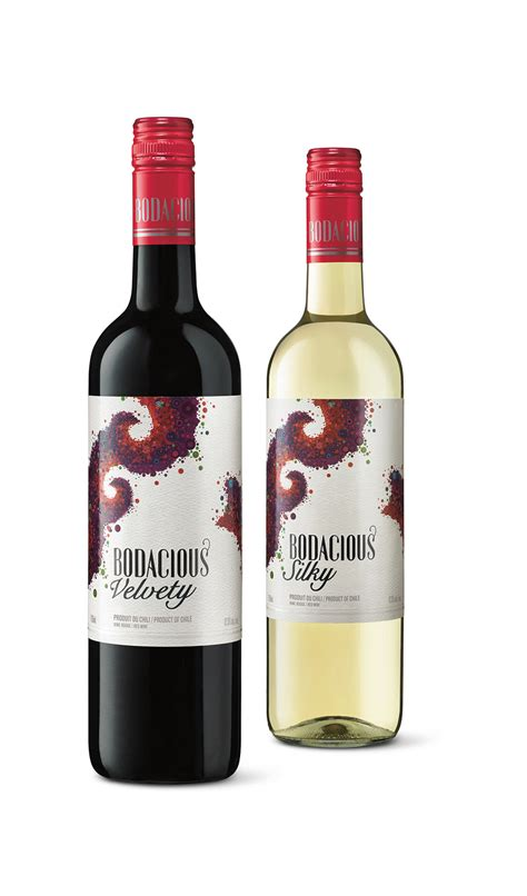 bodacious wine on packaging of the world creative