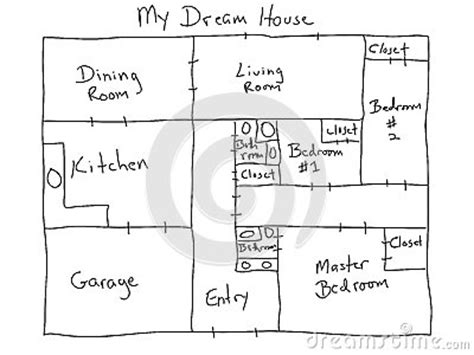 my dream house plans my dream house royalty free stock images image 29946059