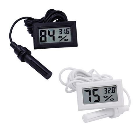 Digital Mini Thermometer aliexpress buy 10pcs lcd digital mini thermometer humidity tester hygrometer temp