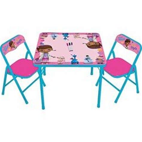 Doc Mcstuffins Table And Chair Set by Doc Mcstuffins Erasable Activity Table And