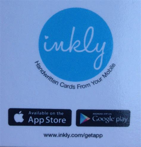 Gift Card App Review - inkly cards app review over 40 and a mum to one