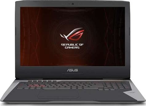 Ram Ddr4 Laptop Asus asus g752vs gaming laptop intel i7 6820hk 2 7ghz 16gb ram ddr4 1 tb hdd 256gb ssd nvidia