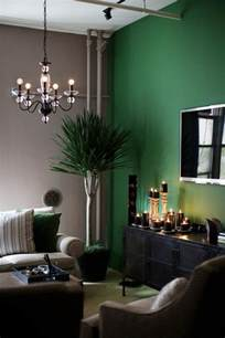Green Walls Living Room Accent Wall Home Sweet Home Pinterest