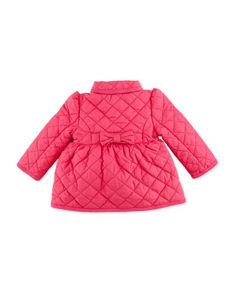 Quilted Barn Jacket by Ralph Childrenswear Quilted Barn Jacket Currant 9 24 Months
