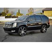 Cadillac Escalade Custom Wheels Lexani Johnson 26x100 ET