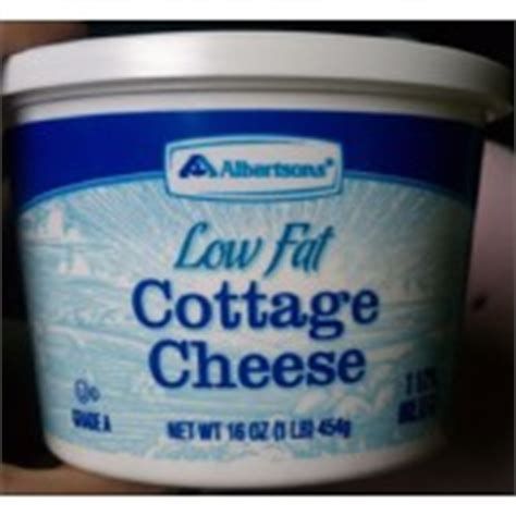 cottage cheese low calories albertsons cottage cheese low calories nutrition