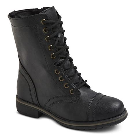 target womans boots s mossimo supply co gwen combat boots ebay