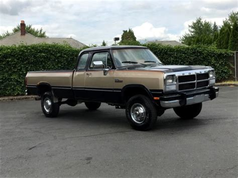 sell used 1993 dodge ram w250 in portland oregon united states for us 11 000 00 1993 dodge ram w250 club cab le auto 5 9 l 12 valve cummins diesel 97k miles classic dodge ram