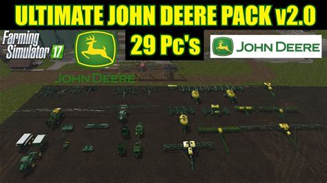 Backpack Ultimate V2 Mlg farming simulator 17 ultimate deere pack v2 0 29 pc s quot mod review quot