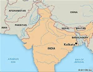 Kolkata India Map by Kolkata Location Kids Encyclopedia Children S