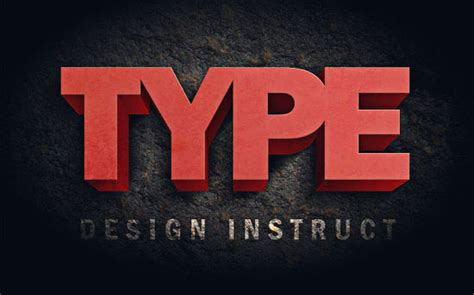 3d text typography tutorial photoshop 3d text effects ultimate collection of photoshop tutorials