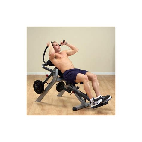 body solid semi recumbent ab bench body solid gab300 semi recumbent ab bench