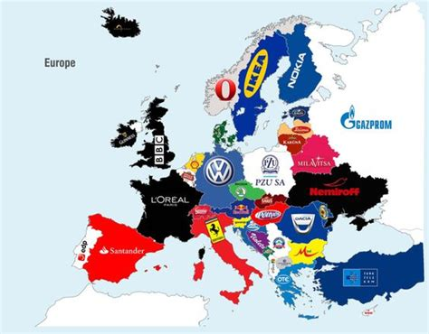 Map The Most Valuable Brand In Each Country In 2018 by What The Most Brands Are From Each State Country