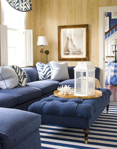 blue beach house living room www imgkid com the image 37 sea and beach inspired living rooms digsdigs