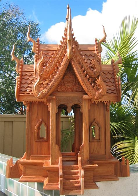 spirit house nongnit s treasures thai spirit houses saan pra prom