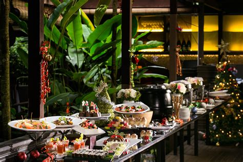 Christmas Buffet And Cocktails At The Halia At Singapore Botanic Garden Food