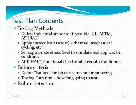 design effectiveness testing effective reliability testing to drive design improvement