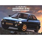 Impreza WRX Online Catalog  Road Cars Special Editions