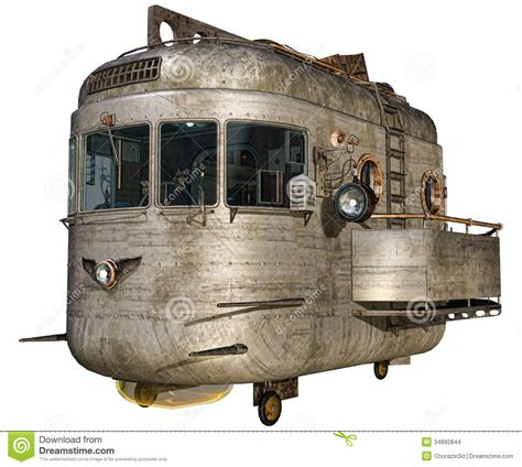Blimp Cabin by Airship Cabin Stock Images Image 34892844