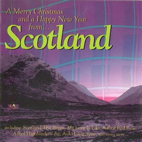 happy new year in scottish merry and a happy new year from scotland