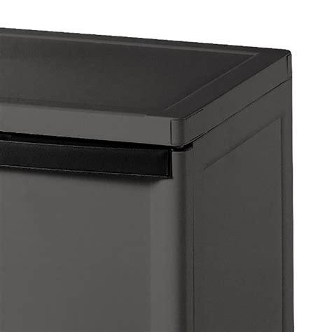 sterilite 2 shelf cabinet sterilite 2 shelf laundry garage utility storage cabinet flat gray 0140 2 pack ebay