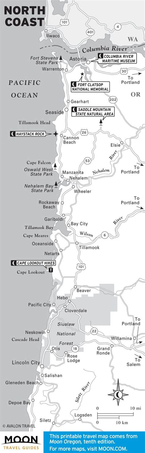 the 10 best places to c on oregon s coast moon com