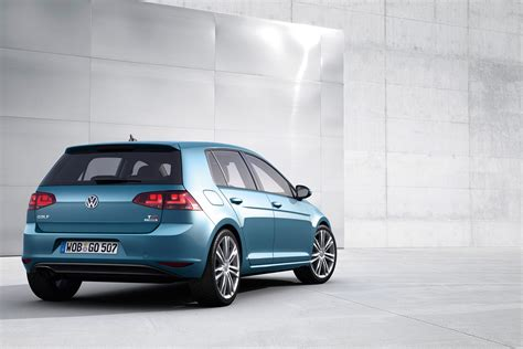 volkswagen golf blue 2013 pacific blue metallic mk7 vw golf highline