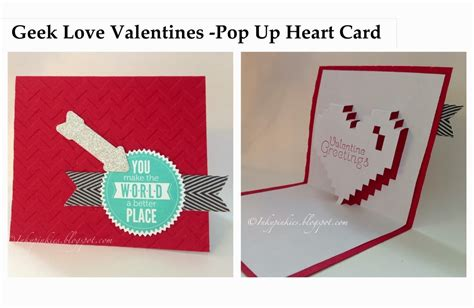 Geeky Valentines Day Card Template by Inkypinkies Valentines My Sons Projects