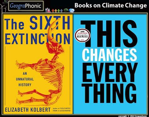 a change of climate books books on climate change and their authors