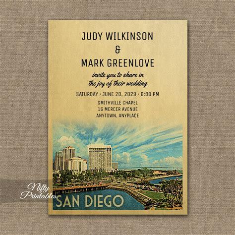 wedding invitations san diego san diego california wedding invitation printed nifty