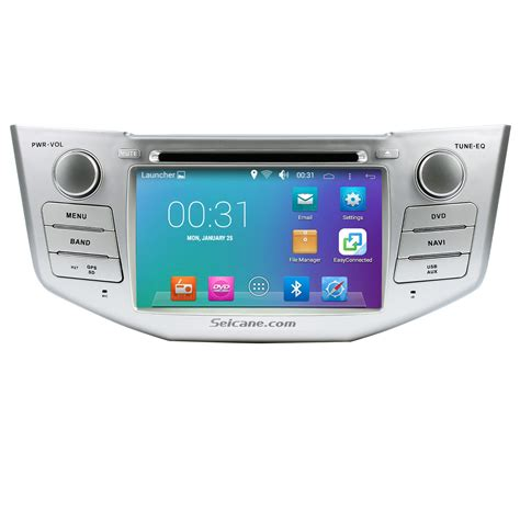 android in dash android 5 1 1 in dash dvd gps system for 2004 2010 lexus rx 350 with bluetooth hd