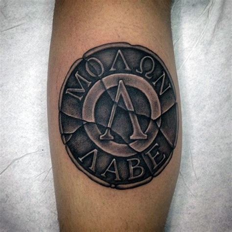 molon labe tattoos 30 molon labe designs for tactical ink ideas