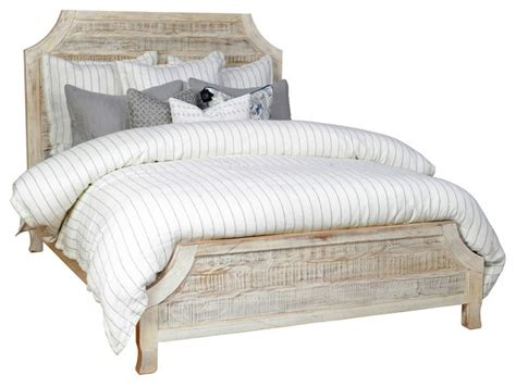 rustic king bed frame reclaimed wood bed frame rustic bed frames by