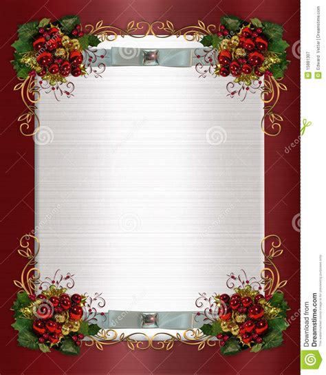 Wedding Borders For Microsoft Publisher by Or Winter Wedding Border Royalty Free Stock