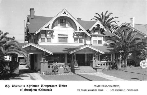 los angeles california womans christian union real photo